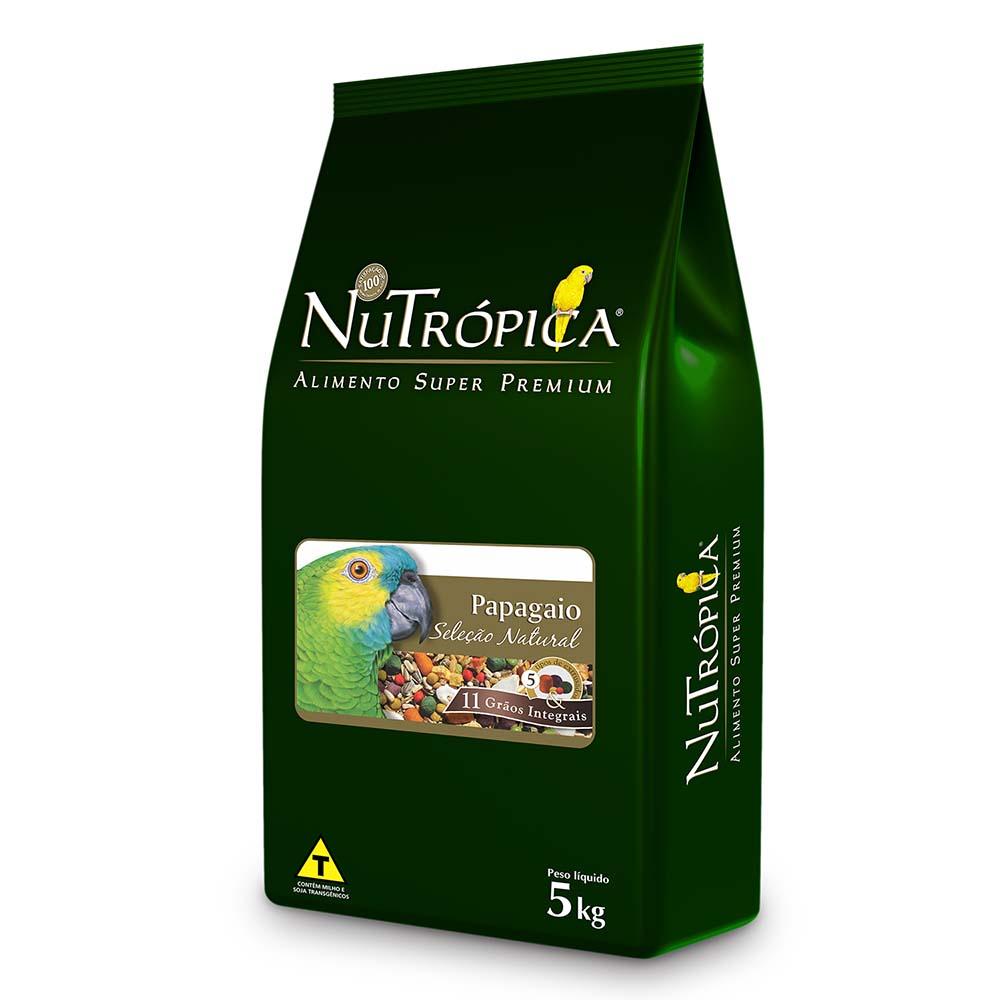 Nutrópica Seleção Natural Papagaio 5kg