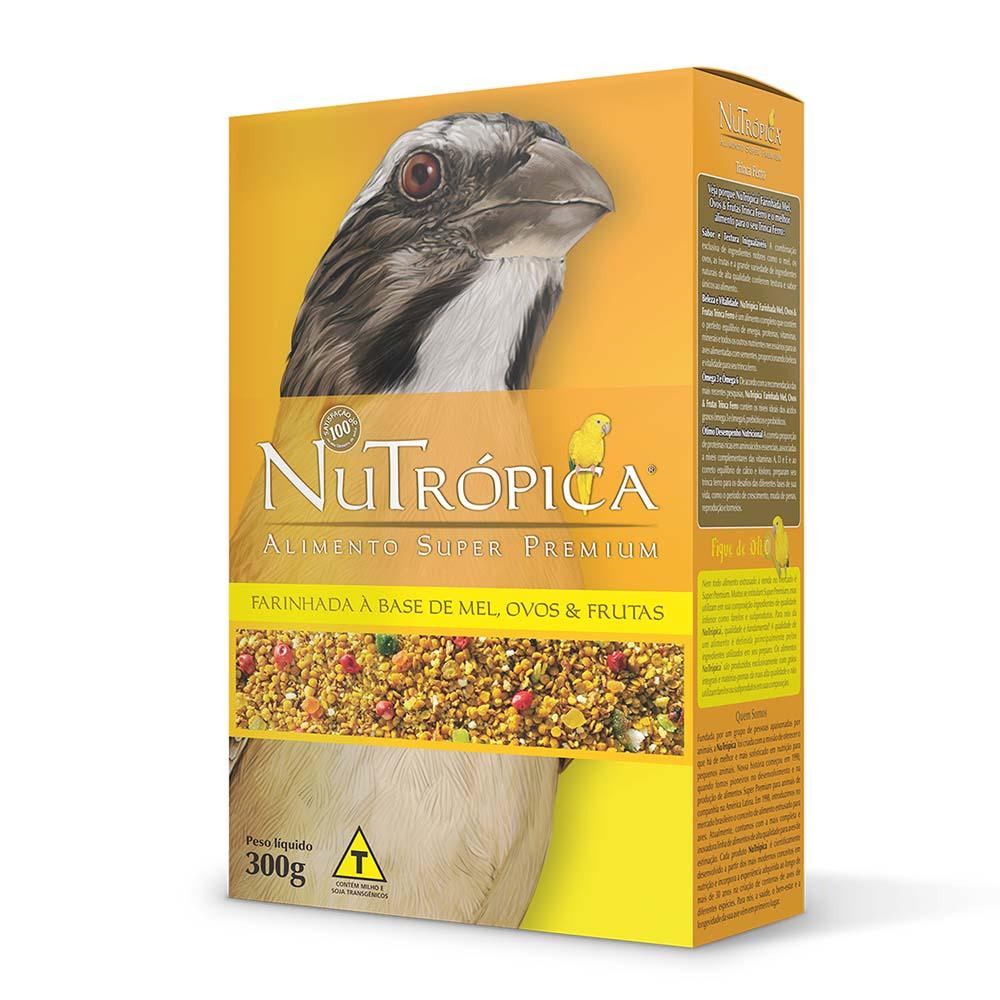 Nutrópica Trinca-Ferro - à base de Mel, Ovos e Frutas - 300g