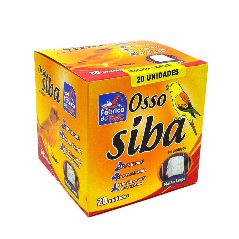 Osso de Siba - Malha Larga - Cx com 20 unidades