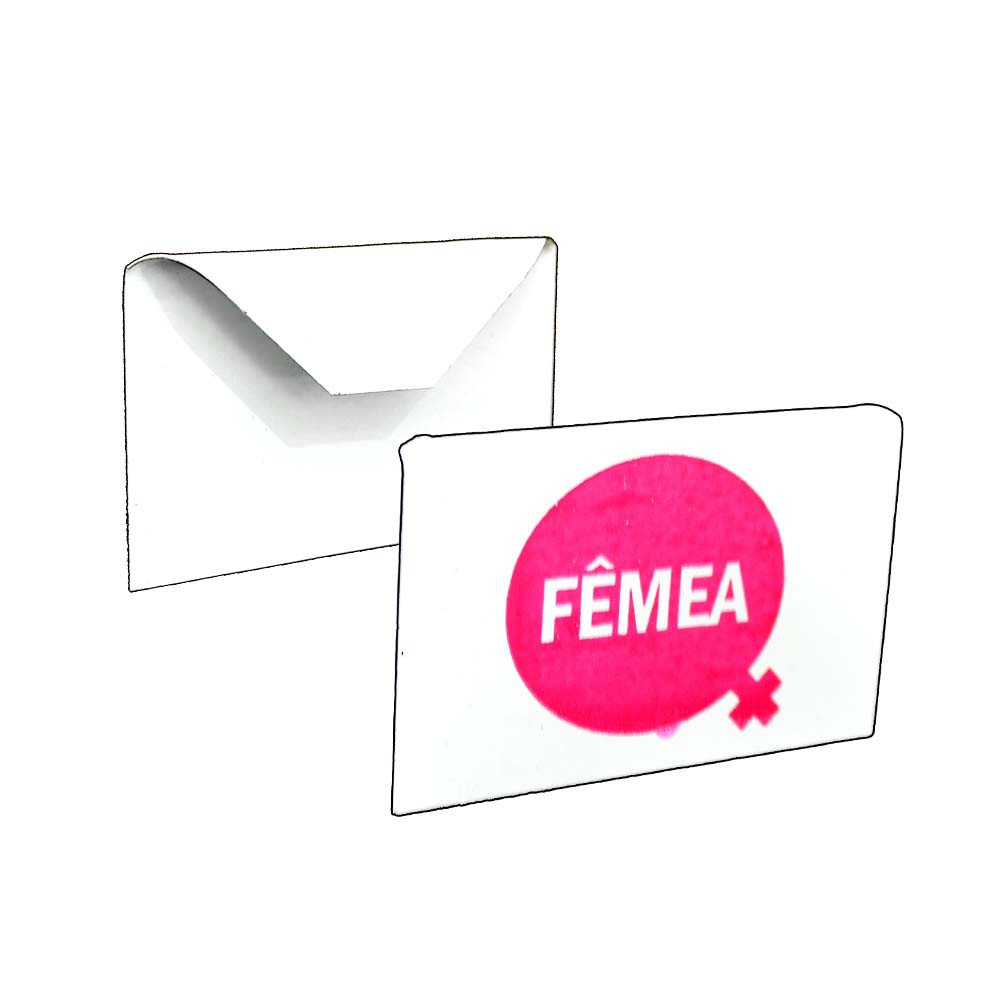 Placa Identificação - Fêmea