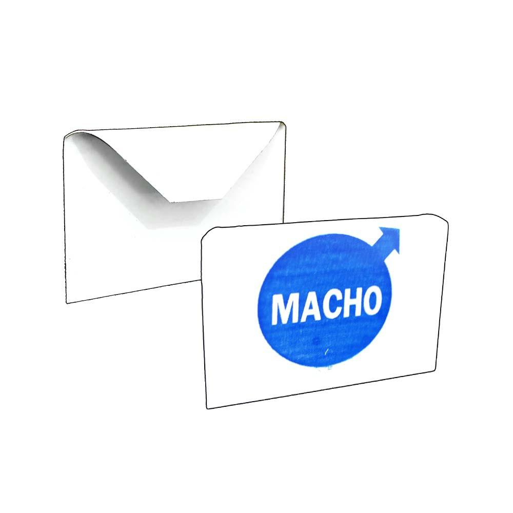 Placa Identificação - Macho