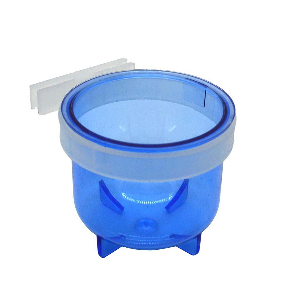 Porta Vitamina Super Trincão Azul C/ Garra - Malha Larga