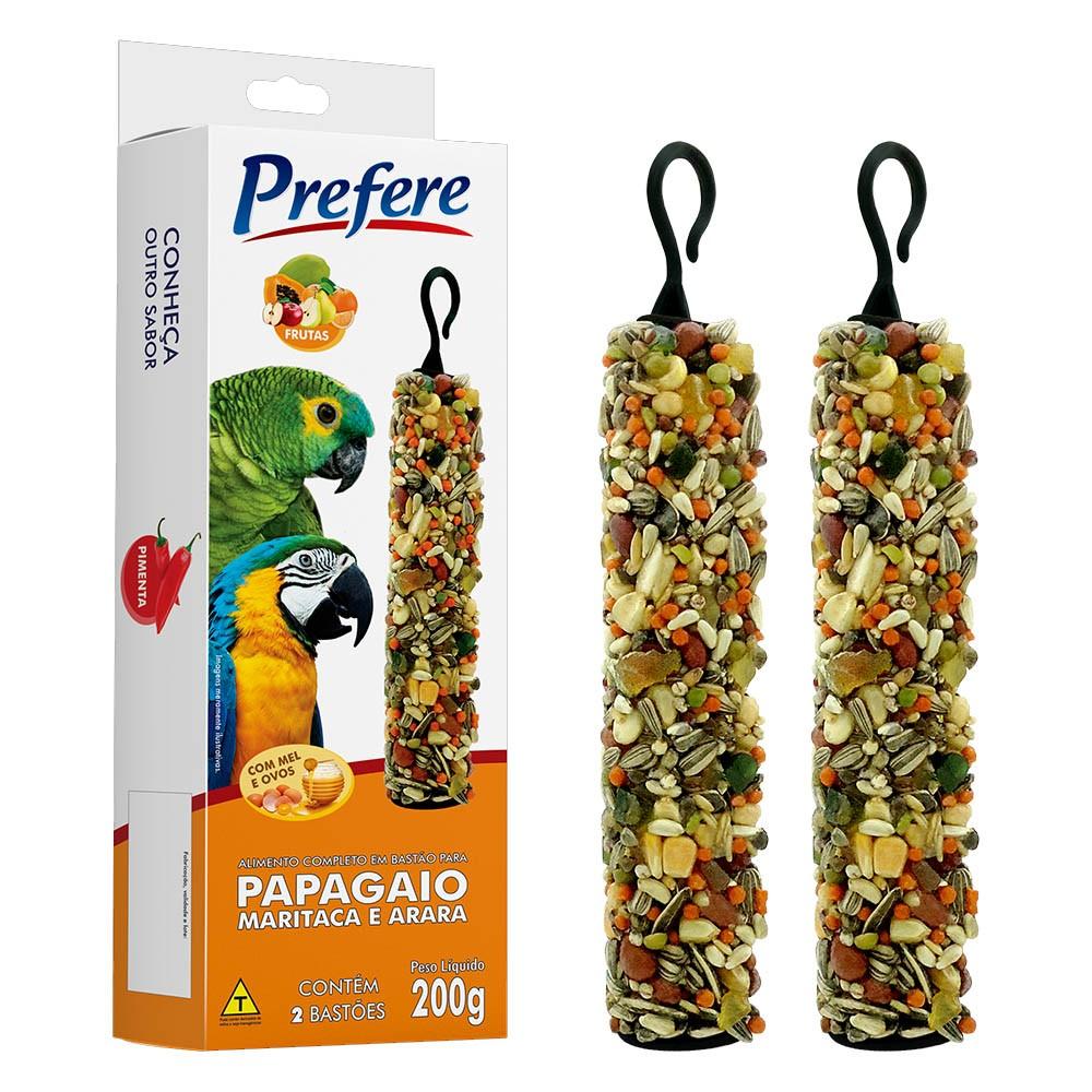 Prefere - Bastão Papagaio Frutas - 200g