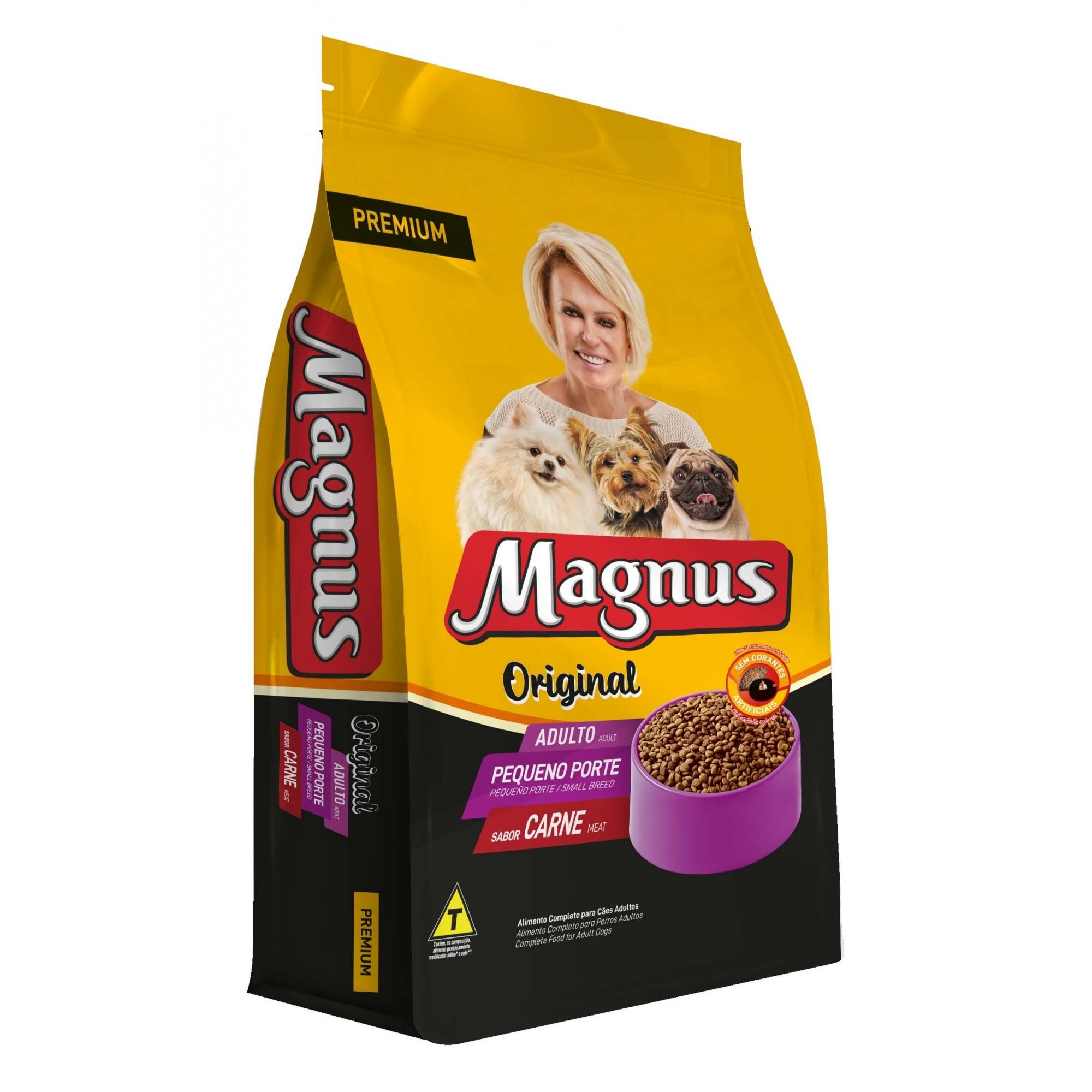 Ração Magnus Premium Original Cães Adultos Pequeno Porte - 15kg