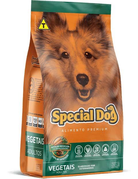 Ração Special Dog Premium Vegetais para Cães Adultos - 20kg