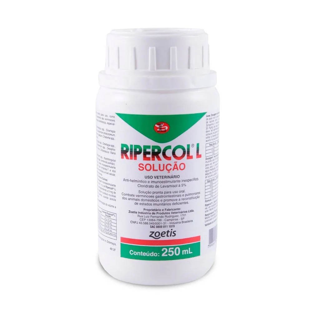 Ripercol'L - Solução Oral - 250ml