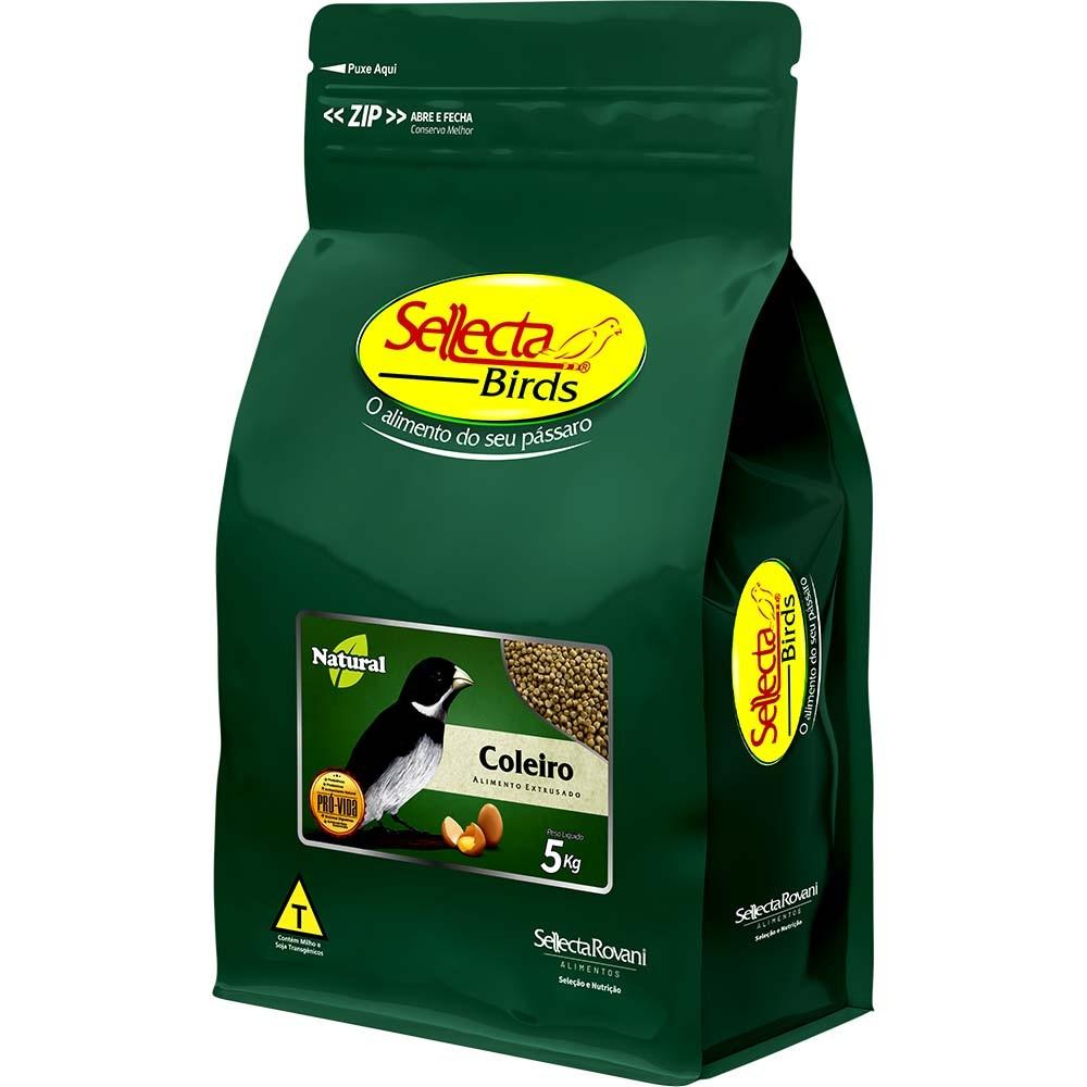 Sellecta Natural Coleiro - 5kg