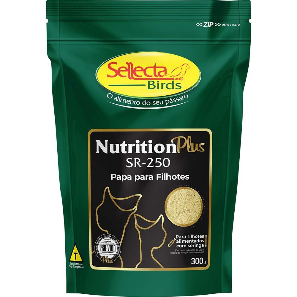 Sellecta Nutrition Plus SR-250 - Papa para Filhotes - 300g