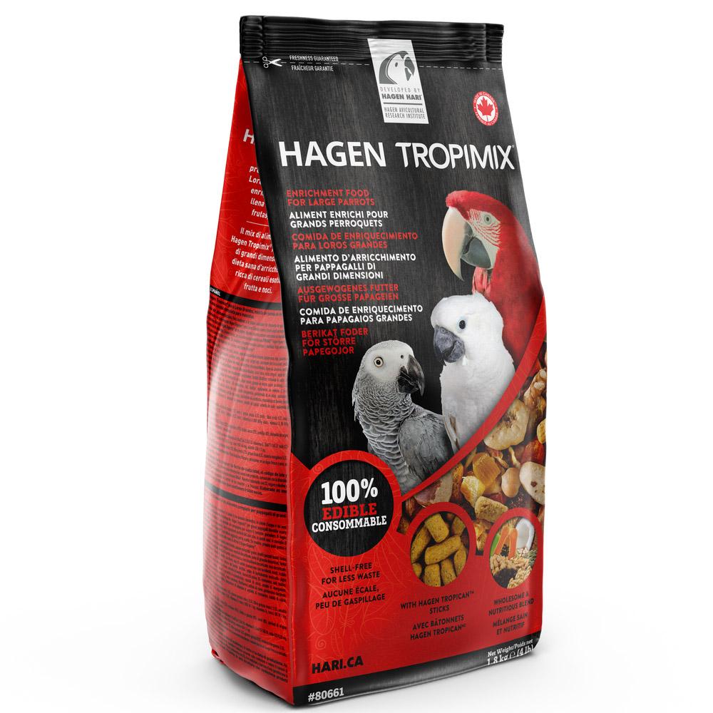 Tropimix Mistura de Sementes para Médios e Grandes Psitacídeos 1.8kg - Hari