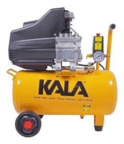 Compressor De Ar 1.5hp 20L 8 Bar 220V KALA 863181
