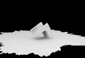 Cotovelo Interno Para Canaleta 20X10 Branca 360-E3/P ENERBRAS