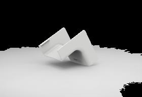 Cotovelo Interno Para Canaleta 50X20 Branca 363-E3/P ENERBRAS