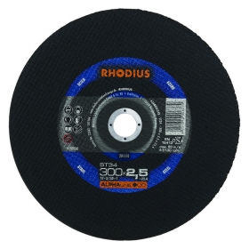 Disco de Corte ALPHA ST36 300X2,5X25,40 RHODIUS 210775