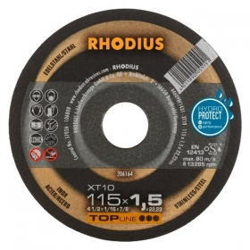 Disco de Corte TOP XT10 115X1,5X22,23 RHODIUS 206164