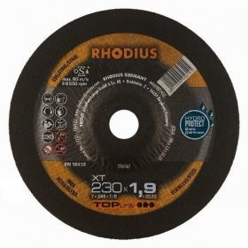 Disco de Corte TOP XT17 230X1,9X22,23 RHODIUS 210437