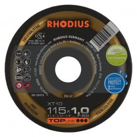 Disco de Corte TOP XT10 115X1,0X22,23 RHODIUS 206162