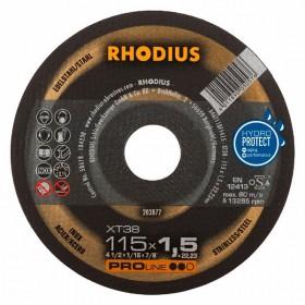 Disco de Corte PRO XT38 115X1,5X22,23 RHODIUS 203877