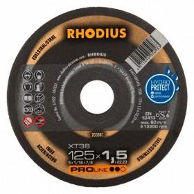 Disco de Corte PRO XT38 125X1,5X22,23 RHODIUS 203881