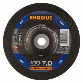 Disco de Desbaste ALPHA RS72 180X7,0X22,23 RHODIUS 210707