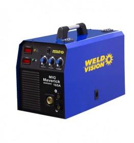 Inversora de Solda MIG Maverick 165A 220V WELD VISION