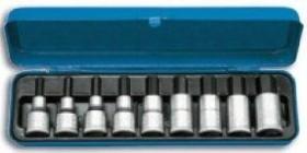 Jogo De Chave Soquete Allen 8 Peças 4-17mm Encaixe 1/2 GEDORE 016.201