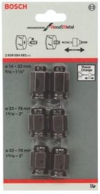 Jogo De 6 Porcas Adaptadoras Para Serra Copo Power Change BOSCH 2608584682