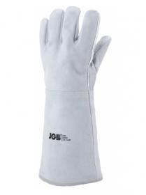 Luva De Segurança Em Raspa Esquerda 20cm Com Reforço E Forro JGB 053 RF