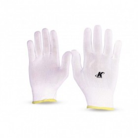 Luva De Proteção Helanca Pigmentada Branca 9/G KALIPSO 02.03.1.2