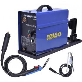 Máquina De Solda Mig 130 Mono. 220v MM14 Weld Vision