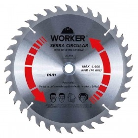 Serra Circular Multimaterial 7.1/4'' 60 Dentes 20mm WORKER 891410