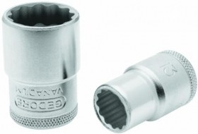 Soquete Estriado 25mm Encaixe 1/2 GEDORE 015.121