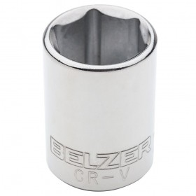Soquete Sextavado 24mm Encaixe 1/2 BELZER 205015BX