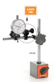 Suporte Magnético Ajuste Fino Articulado Caixa Papelão DIGIMESS 270.240