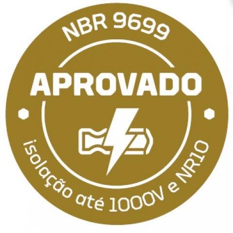 Alicate Tipo Telefone Bico Curvo Isolado 8'' GEDORE 029.670