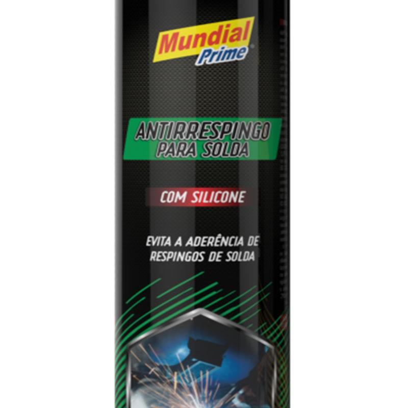 Antirrespingo Para Solda Com Silicone Spray 400ml Mundial Prime