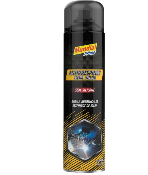 Antirrespingo Sem Silicone Spray 400ml Mundial Prime