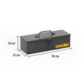 Caixa Metálica Para Ferramentas 35cm VONDER 61.15.351.211