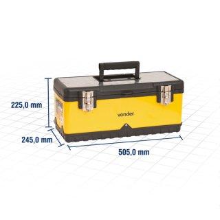 Caixa Metálica/Plástica Para Ferramentas VONDER 61.05.500.000