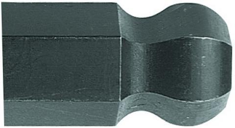 Chave Allen Abaulada Longa 2,5mm GEDORE 012.903