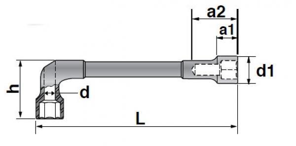 Chave Biela Passante 15mm GEDORE 025.309