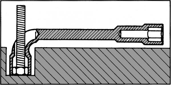 Chave Biela Passante 19mm GEDORE 025.313