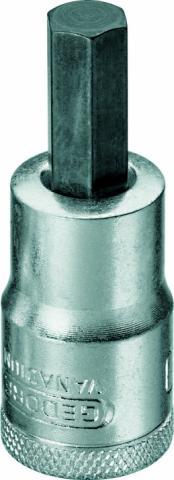Soquete Allen 9mm Encaixe 1/2 GEDORE 016.045