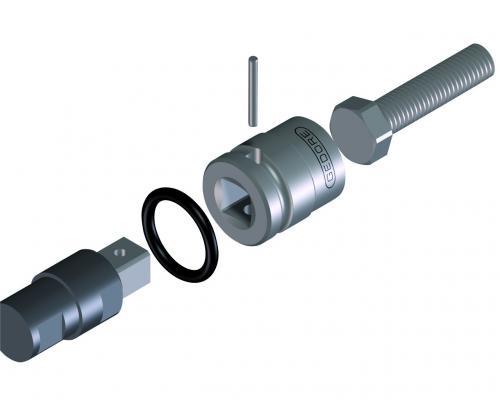 Chave Soquete Allen De Impacto 14mm Encaixe 3/4 GEDORE 023.150