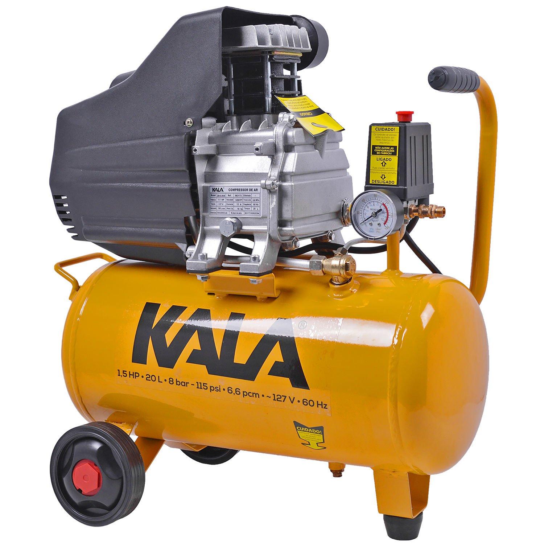 Compressor De Ar 1.5hp 20L 8 Bar 127V KALA 863173