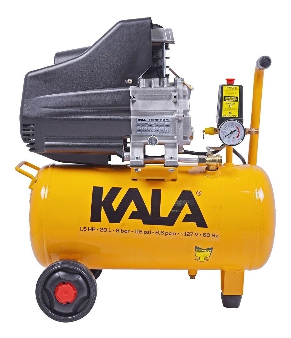 Compressor De Ar 1.5hp 20L 8 Bar 220V KALA 863181