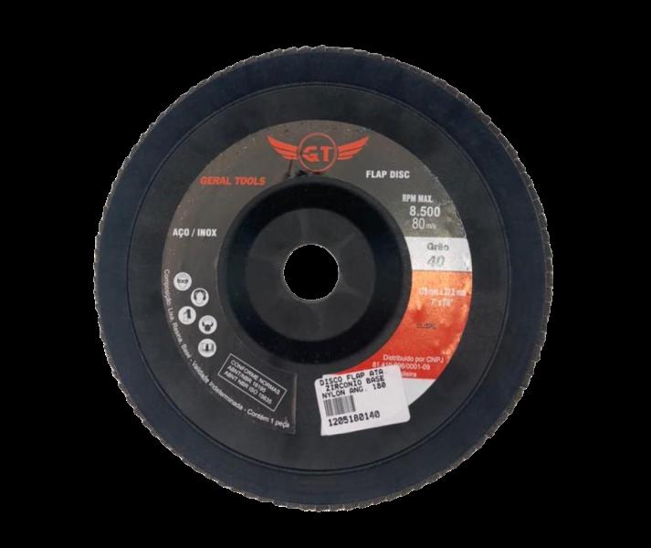 Disco Flap Angular 180X22,23 GR40 GERALTOOLS