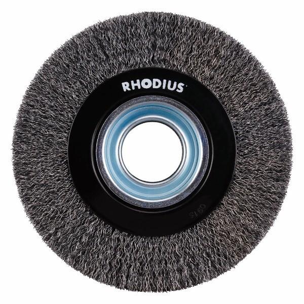 Escova Circular Ondulada Aço PRO SRBWST 150X16X32 0,30 RHODIUS 353054