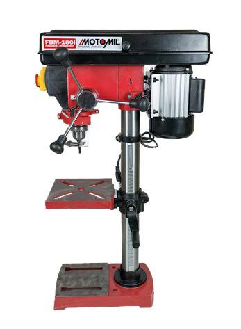 Furadeira De Bancada 16mm 1/2hp 110V Monofásico MOTOMIL FBM-160I