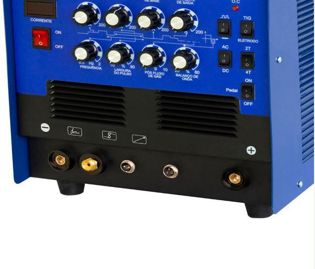 Inversora De Solda Galaxy AC/DC 200 220V Weld Vison