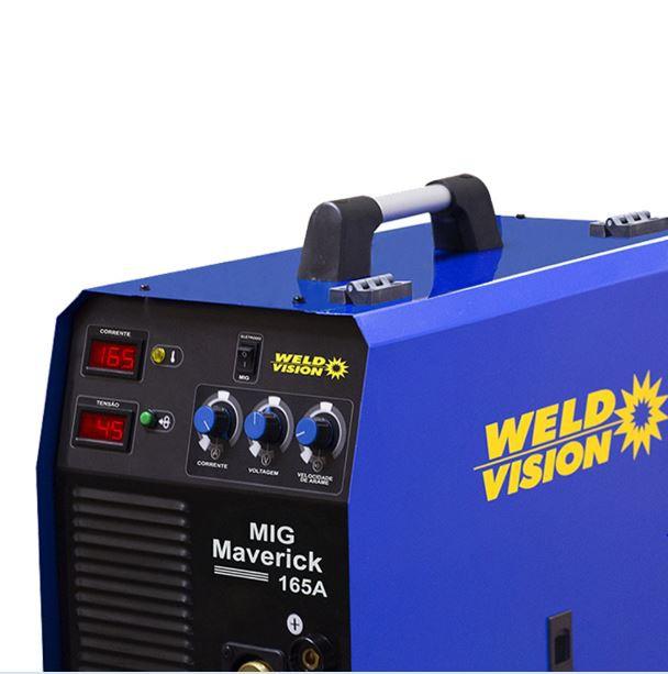 Inversora De Solda Maverick Mig 165 (B) Weld Vison